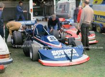 MARCH 752. Martyn Griffeths. Prescott Hillclimb March 1977